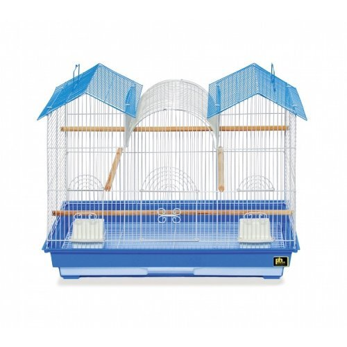Zzprevu Triple Roof Cage Keet Prevue Pet Products Bpv1804tr 2 Pack Parakeet Triple Roof Cage Colors Vary