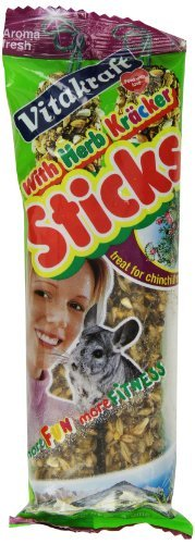 Vita Sticks Chinchilla Herb Vitakraft Chinchilla Herb Sticks And 4 Ounce Bag