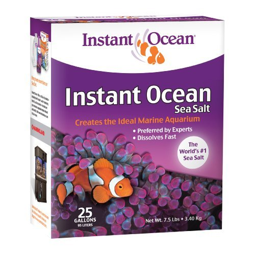 Ml Instant Ocean Salt 25 Gal Instant Ocean Sea Salt 25 Gallon