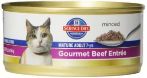 Hill's Science Diet Mature 7+ Gourmet Beef Entree 5.5oz