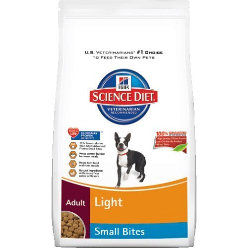 Hill's Science Diet Adult Light Small Bites Dog 17.5lb