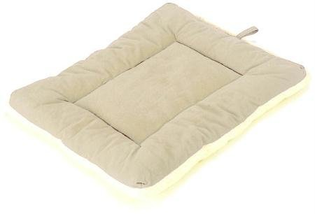 Pdi Sleepezz Clssc Khaki Lg Pet Dreams Classic Sleep Ezz Dog Crate Pad Bed Rest Mat Extra Large Khaki