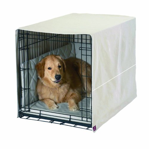 Pdi Crateware Khaki Xsmall Pet Dreams Classic Cratewear Set Khaki Fits 19 Inch Crates 3 Piece