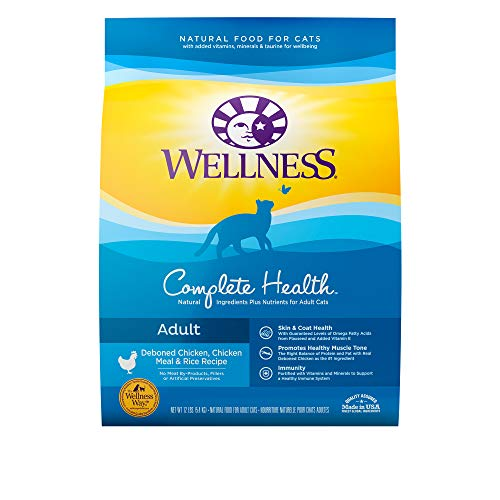 Wellness Complete Health Chicken & Rice Cat 12lb