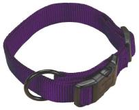 "Ham Cllr Adj 1""""x18 26"""" Lg Purp Hamilton 1 Inch Adjustable Dog Collar Large Fits 18 Inch By 26 Inch Purple"