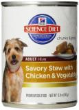 Hill's Science Diet Adult Savory Stew Chicken And Vegetables Dog 12.8oz