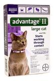 Advantage Cats 6pk Over 9lb Bayer Advantage Ii Large Cat Over 9 Pound 6 Month