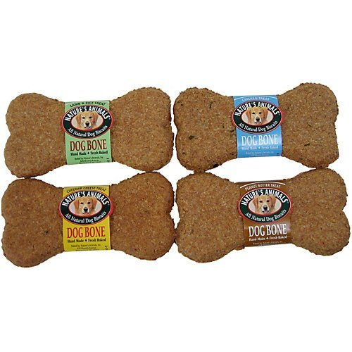 "Nat Animals Dog Bone Chk 4"""" Dog Biscuits 24 Count Chicken Order By The Case"