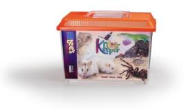 Lee Kritter Keeper Md 1.75gal Lee's Kritter Keeper Medium Rectangle W Lid Label Colors May Vary