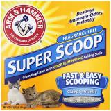 Lk Super Scoop Unscented 14lb (3) Arm And Hammer Super Scoop Clumping Unscented Cat Litter 14 Lb Box *lk Super Scoop Unscented 14lb