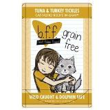 Bff Tuna & Turkey Tickles In Gravy Pouches 3oz