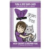Bff Tuna & Beef Baby Cakes In Gravy Pouches 3oz