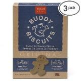 Cls Bacon Cheese Biscuits 1lb Cloud Star Buddy Biscuits Dog Treats Bacon And Cheese Flavor 16 Ounce Boxes
