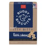 Cls Bcn Ch Itty Bitty Bisct 8z Cloud Star Itty Bitty Buddy Biscuits Dog Treats Bacon And Cheese Madness 8 Ounce Boxes