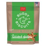 Cls Roasted Chkn Soft Chews 6z Cloud Star Soft & Chewy Buddy Biscuits Dog Treats Roasted Chicken Flavor 6 Ounce Pouches