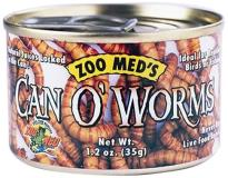 Zoo Can O'worms 1.2oz Zoo Med Laboratories Szmzm42 Can O Worms 1.2 Ounce