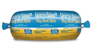 Natural Balance Duck & Turkey Dog Roll 4oz.