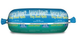 Natural Balance Chicken Dog Roll 4oz.