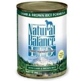 Natural Balance Lid Lamb & Brown Rice 13oz