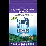 Nbp Dog Legume And Duck 24lb Dick Van Patten's Natural Balance Limited Ingredient Diets legume And Duck Meal Formula Dry Dog Food 24 Pound Bag