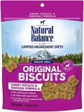 Natural Balance Sweet Potato And Venison Dog Treats 8 Ounce Bag