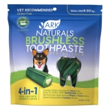 Ark Breath Less Sm Md 12oz Ark Naturals Products For Pets 326070 12 Ounce Breath Less Chewable Brushless Toothpaste Small Medium