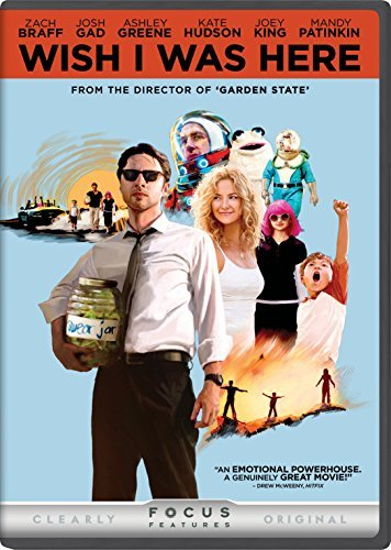 Wish I Was Here Braff King Gagnon DVD R