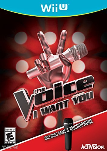Wii U The Voice I Want You W. Microphone