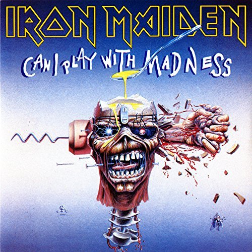 Iron Maiden Can I Play With Madness 7""
