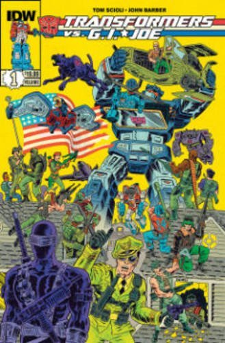 Tom Scioli Transformers Vs G.I. Joe Volume 1