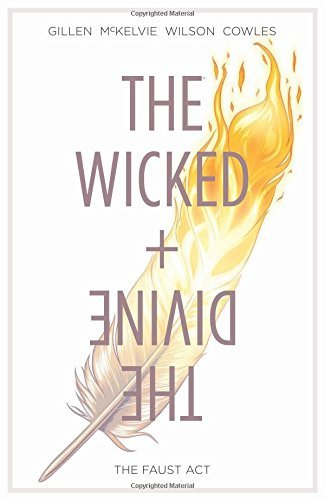 Kieron Gillen The Wicked + The Divine Volume 1 The Faust Act