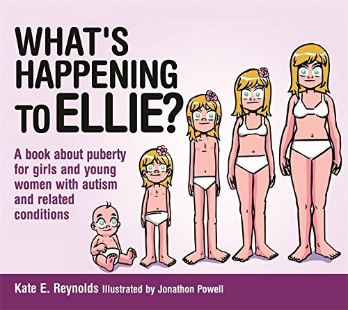 Kate E. Reynolds What's Happening To Ellie? A Book About Puberty For Girls And Young Women Wi