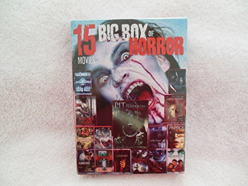 Big Box Of Horror 15 Movies~over 21 Hours~meridian