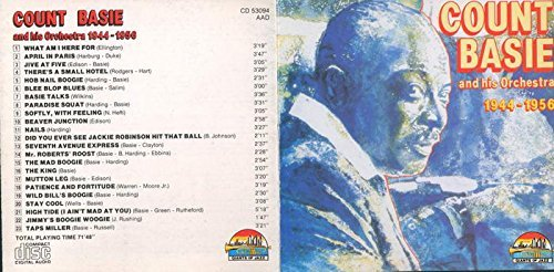 Count Basie And His Orchestra Count Basie And His Orchestra 1944 1956