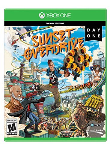Xb1 Sunset Overdrive Launch Edition