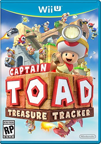 Wii U Captain Toad Treasure Tracker