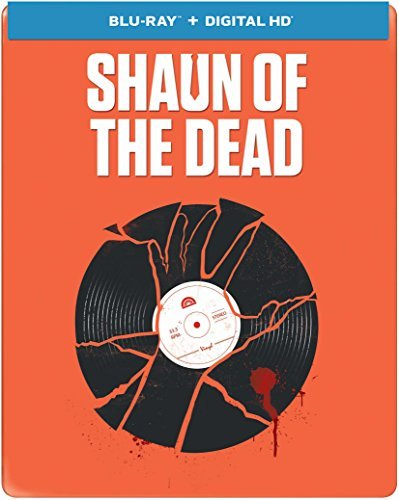 Shaun Of The Dead Pegg Simon Blu Ray Steelbook R