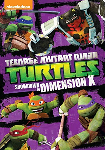 Teenage Mutant Ninja Turtles Showdon In Dimension X DVD