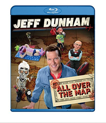 Jeff Dunham All Over The Map Jeff Dunham All Over The Map Blu Ray