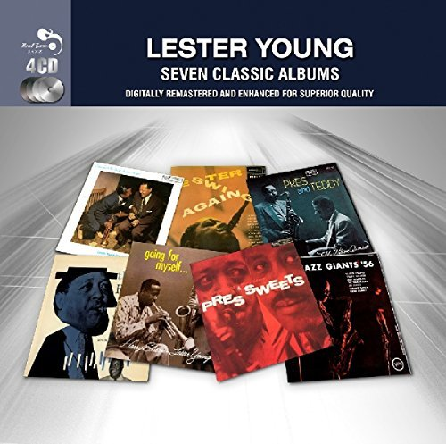 Lester Young 7 Classic Albums Import Gbr 4 CD
