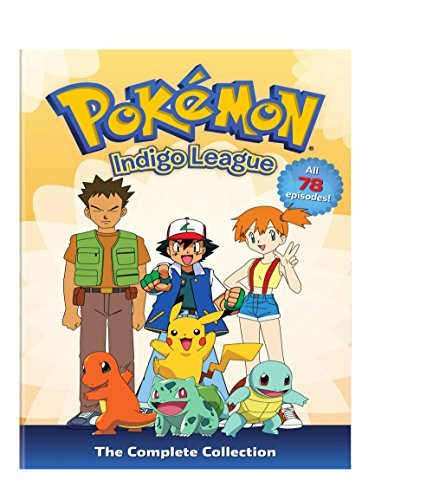 Pokemon Indigo League Complete Collection DVD Nr