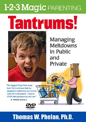 Thomas W. Phelan Tantrums! (dvd) Managing Meltdowns In Public And Private