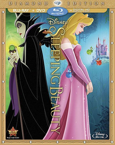 Sleeping Beauty Disney Blu Ray DVD Blu Ray DVD G