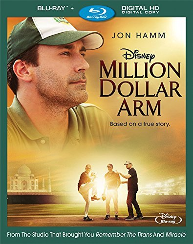 Million Dollar Arm Hamm Arkin Mandvi Blu Ray Pg