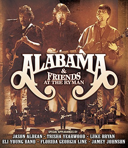 Alabama & Friends At The Ryman(2cd DVD