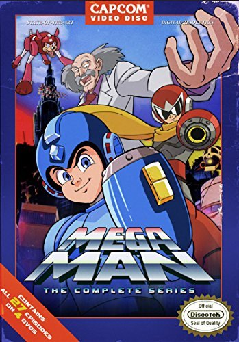 Mega Man Complete Tv Series DVD