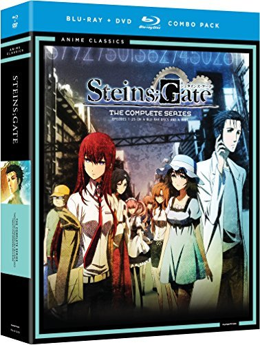 Steinsgate Complete Series Blu Ray DVD Nr