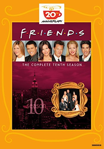 Friends Season 10 DVD