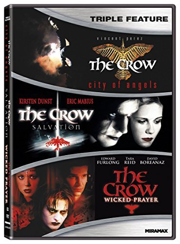 Crow Triple Feature DVD R