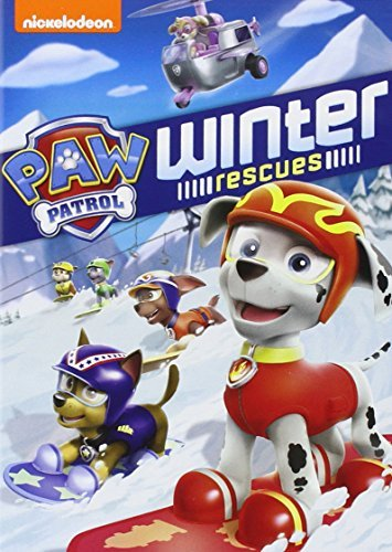 Paw Patrol Winter Rescues DVD